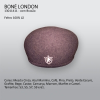 4001 - Boina London com brasão